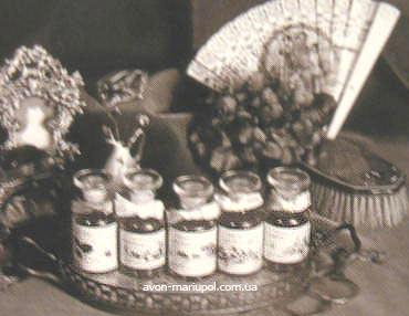 Первая продукция Калифорнийской парфюмерной компании